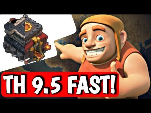HOW TO CREATE TH9.5 FAST & BETTER IN CLASH OF CLANS