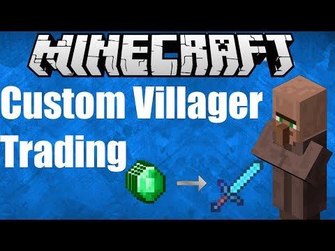 Customizing Villager Trades with /summon Minecraft