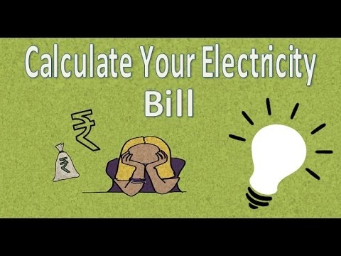 How to Calculate Electrical bill