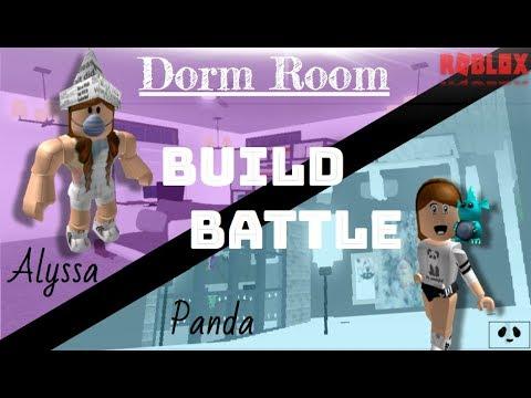 Dorm Room BUILD BATTLE (Alyssa V.s. Panda)