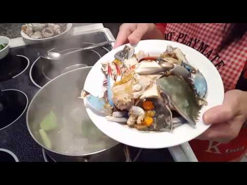 Seafood with Rice Paddy Herbs