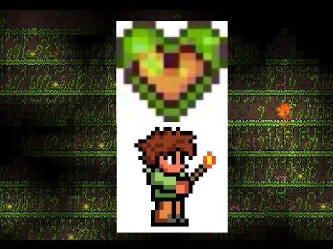 Terraria iOS - how to get life fruits/golden hearts