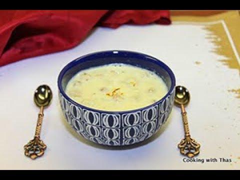 Puffed Lotus Seeds Kheer- Phool Makhana Kheer
