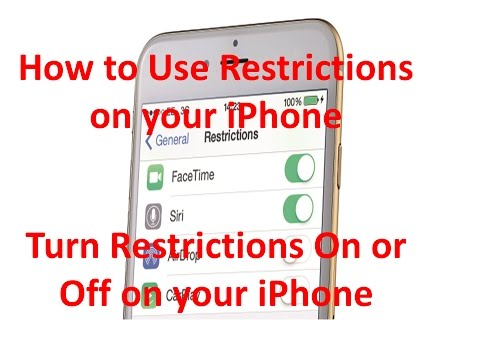 Parental Controls For iPhone: How to Turn Off Restriction on iPhone Dam Khunpisey