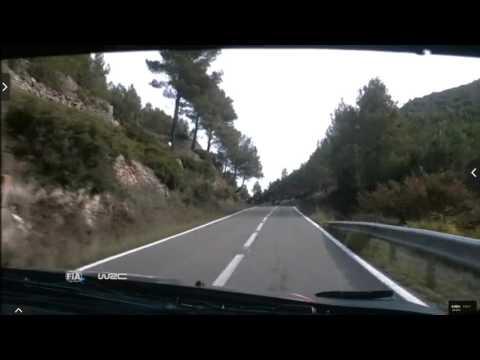 Onboard Kubica rally Catalunya-costa Daurada ss22 2015
