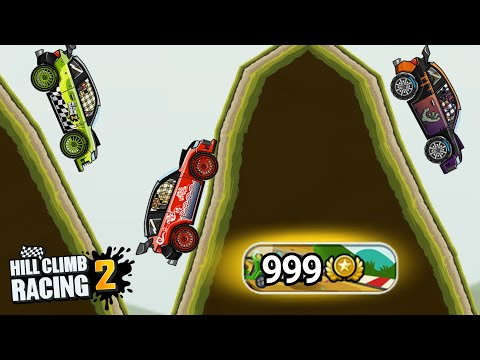 Is Rally Car Best In Downhill Race??? | Hill Climb Racing 2