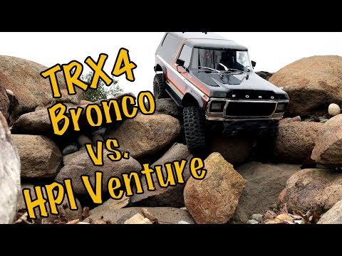 Traxxas TRX4 Bronco and HPI Venture