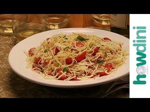 Quick and Easy Pasta Recipes: Cappellini Caprese and Fettuccine Alfredo Recipe