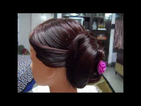 A Very Very Simple and Easy Hairstyle. Three different looks from three sides