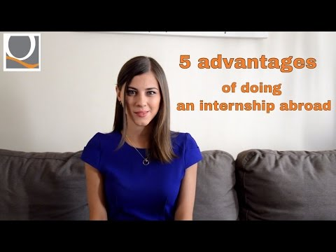Internship abroad: 5 advantages