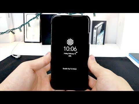 How to Enable Always-On Display on the iPhone X