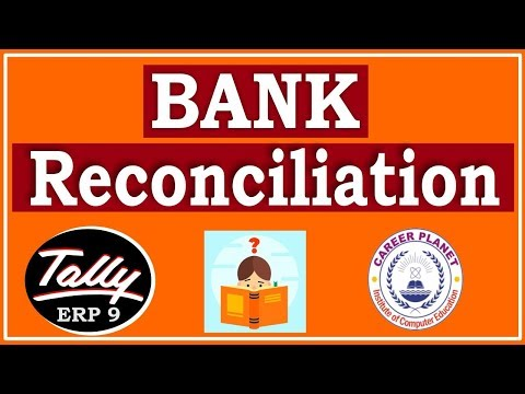 Bank Reconciliation Statement in Tally ERP 9 Part-107| Learn BRS in Tally