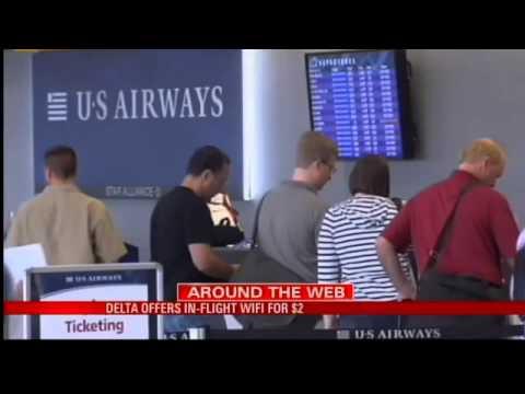 Delta Offers In-Flight WIFI for $2