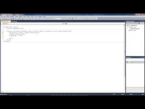 Visual studio 2010 - vb.net Lesson #2 - Call textfield value if else statement