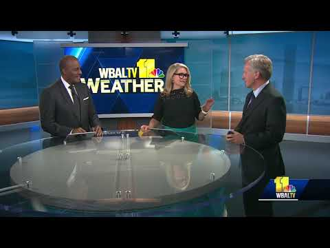 Former co-anchor Virg Jacques sends best wishes to Donna
