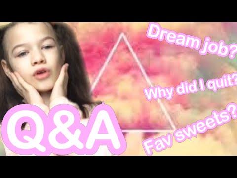 Q&A: dream job? Fav mlp?