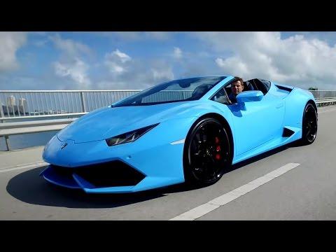 2016 Lamborghini Huracan Spyder - Review and Road Test