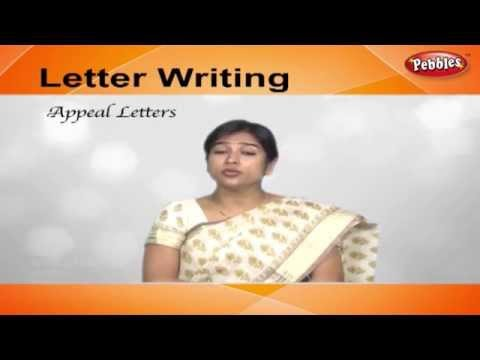 Appeal Letters | Letter Writing in English | Writing Letters For Kids