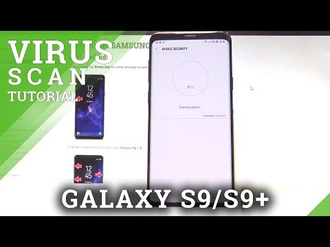 VIRUS SCAN in SAMSUNG Galaxy S9+ - Detect Risks and Malware