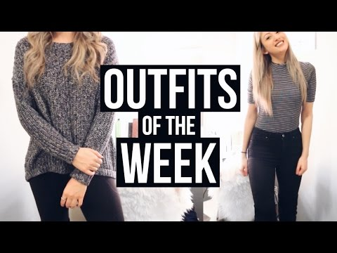 LATE FEBRUARY OOTW | Outfits Of The Week + FREE GLASSES