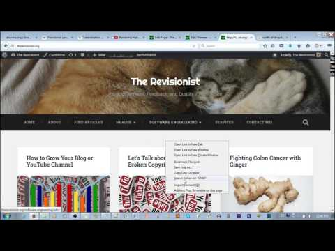 How to change the padding width of the menu in WordPress
