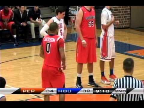 NCAA Basketball: Pepperdine University vs. Houston Baptist University