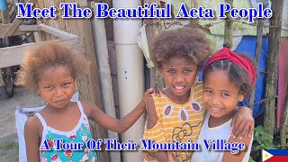 MEET THE BEAUTIFUL AETA PEOPLE A TOUR OF THIER MOUNTAIN VILLAGE ANGELES CITY PHILIPPINES