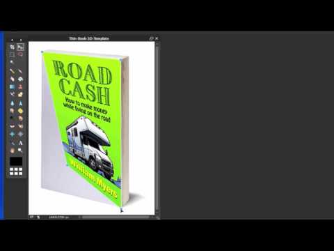 Create 3D book and DVD covers using free software