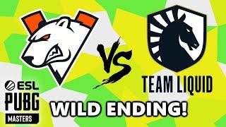 VIRTUS PRO vs TEAM LIQUID - WILD ENDING! - ESL PUBG MASTERS - Stage 2 - Match 8