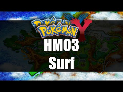 Pokemon X & Y | Where to get HM03 Surf