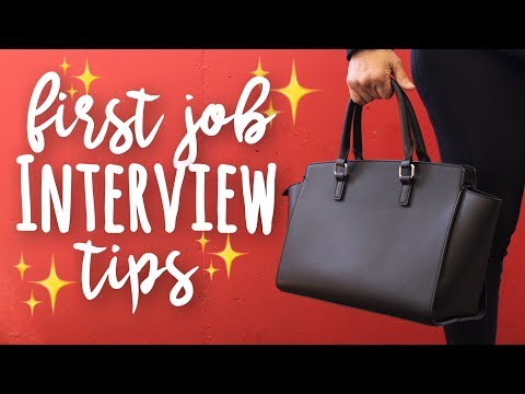Interview Tips for Your First Job! | SimplyMaci