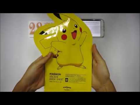 Tony Moly x Pokemon - Pikachu Honey Mask Pack Moisturising x 10s