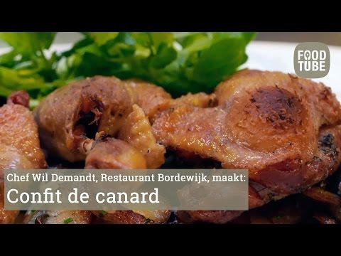 Wil Demandt maakt confit de canard
