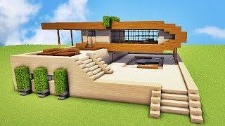 Comment faire une villa de luxe sur minecraft tuto for Comment faire une petite maison minecraft