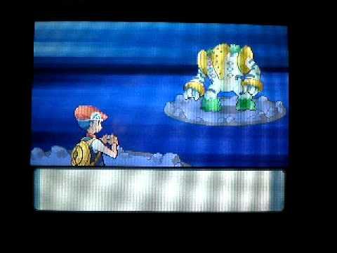 Pokemon Diamond I CAUGHT REGIGIGAS