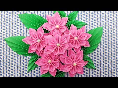 DIY Paper Flowers Bouquet | How to make a paper flower easy for beginners