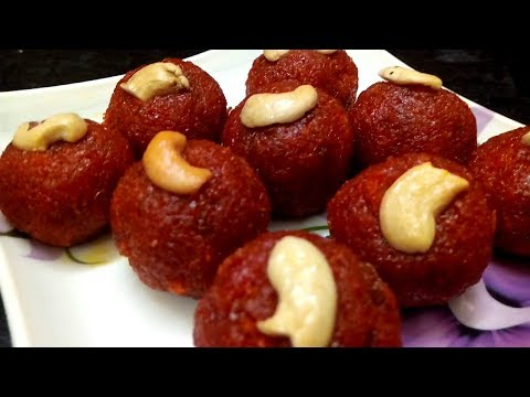 How To Make Carrot Laddu / கேரட் லட்டு At Home in Tamil