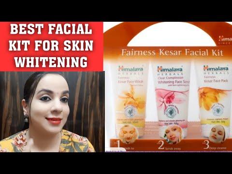 Himalaya herbals kesar fairness facial kit Review in Hindi/सुन्दर गोरा चहरा फचियल घरों बैठें किजीए स
