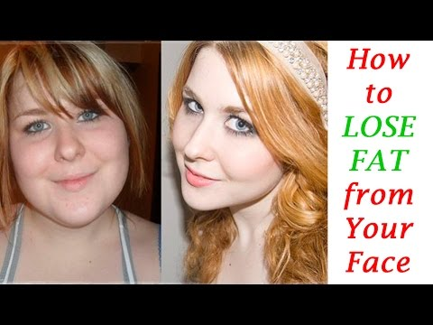 How to Lose Fat from Your Face