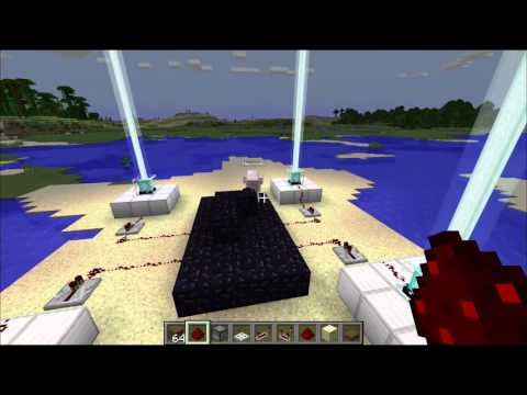 Minecraft Pro Tips Episode #3 - How To Build A Teleporter