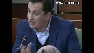 """#x202b;نائب برلماني يقصف وزير المالية والحكومة على المباشر: """"فاشلون ولكن مستمرون""""!#x202c;lrm;"""