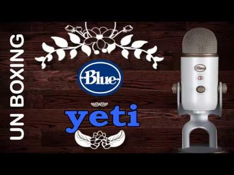 Blue yeti unboxing