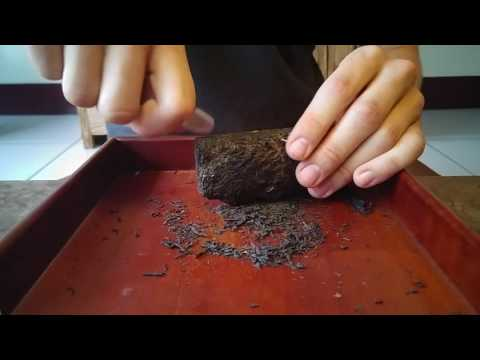 How to break into a tightly compressed tea if you don't have a puerh knife!
