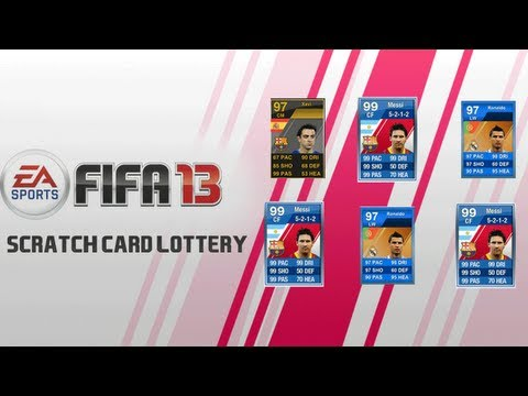 FIFA 13 Lottery + Scratch Card System For Ultimate Team Possibility?