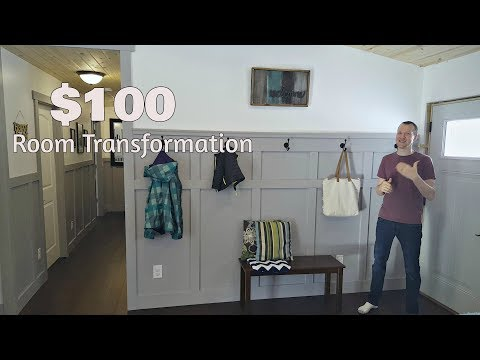 Transform a Room with Board and Batten Wainscoting