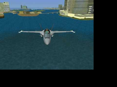 Fighter Mig in vice city