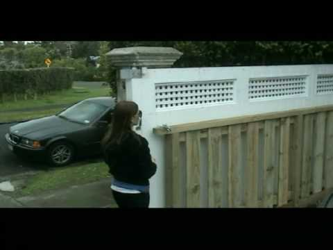 See how the sliding driveway gate works