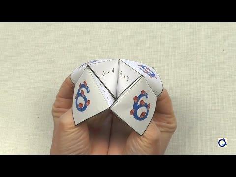 Origami Fortune Teller Game