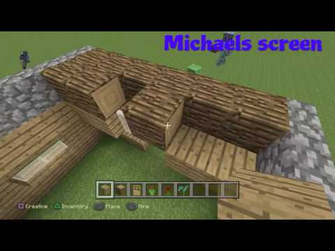 How to build a nice wooden house (Michaels screen )