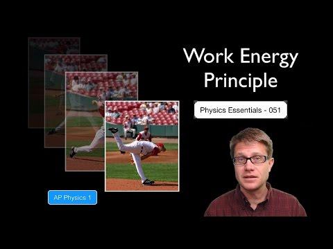 Work Energy Principle
